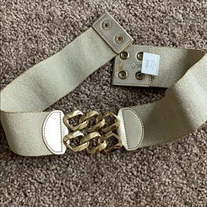 Lilly Pulitzer Gold Belt